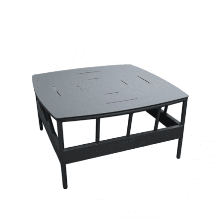 outdoor aluminum coffee table