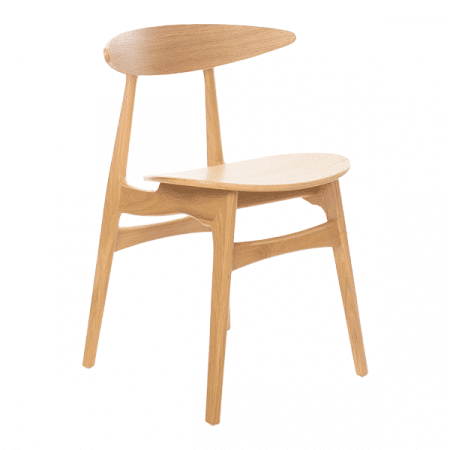 minimalist wood chair