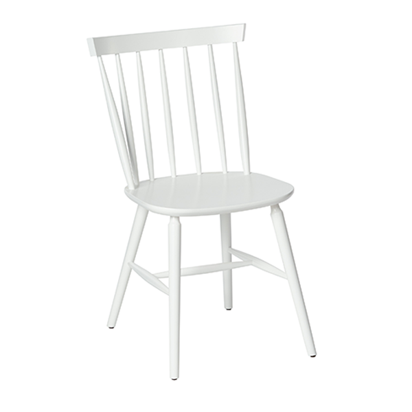 white old fashioned southern wood chair