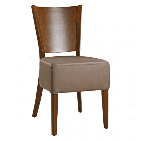 deep cushion dining chair