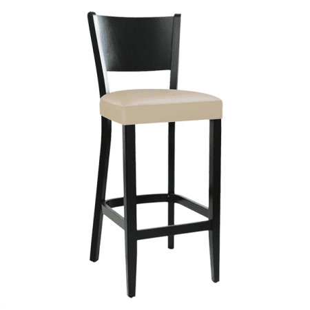 barstool with upholstered seat