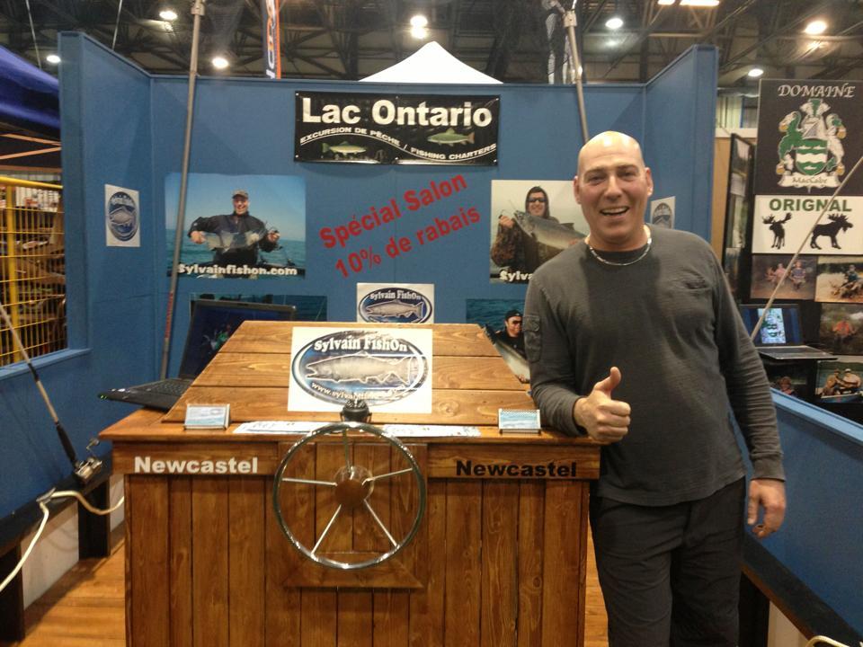Contact SYLVAINFISHON guide de pêche lac Ontario