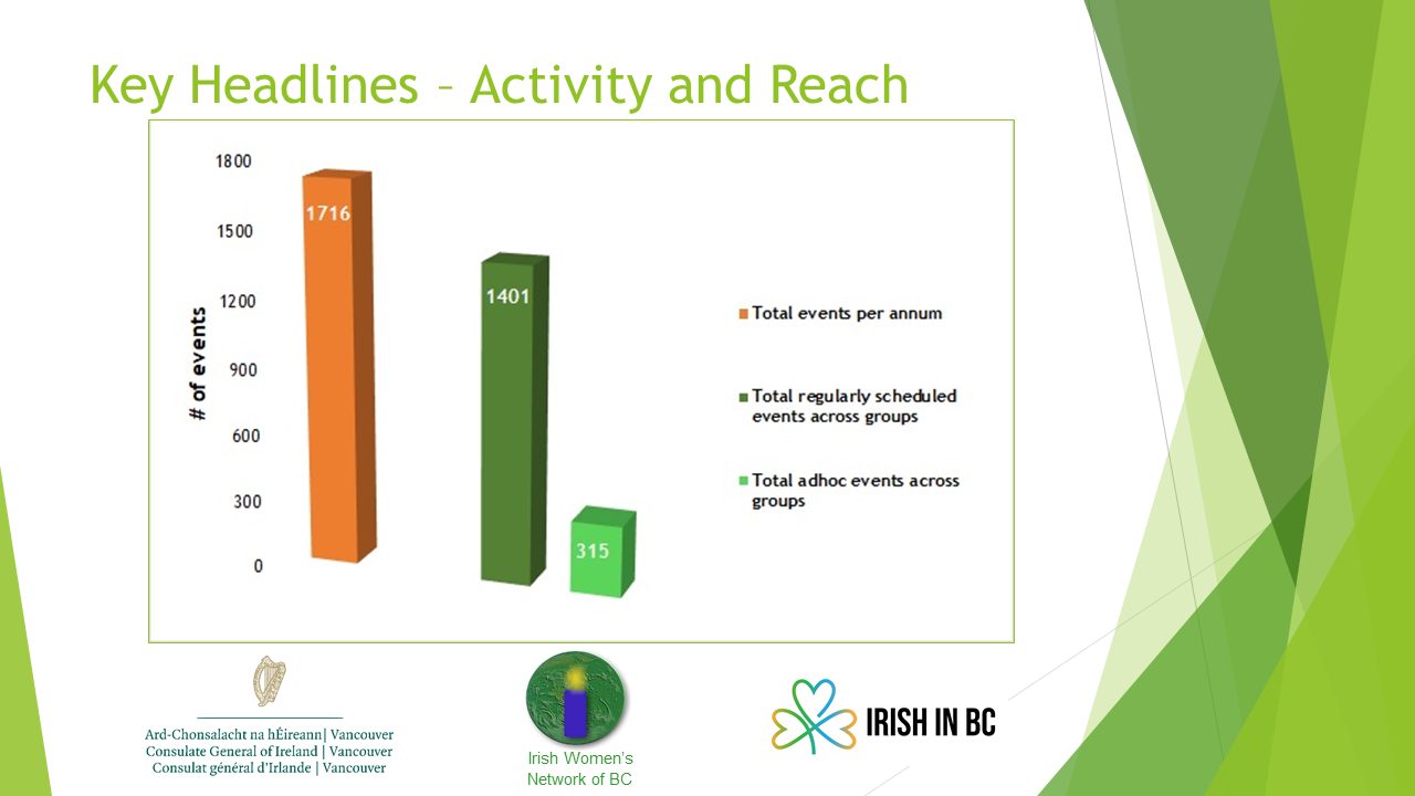 Activity and Reach of Irish Community Groups