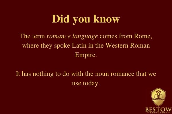 Why is it difficult to learn English? Romance languages origin and explanation