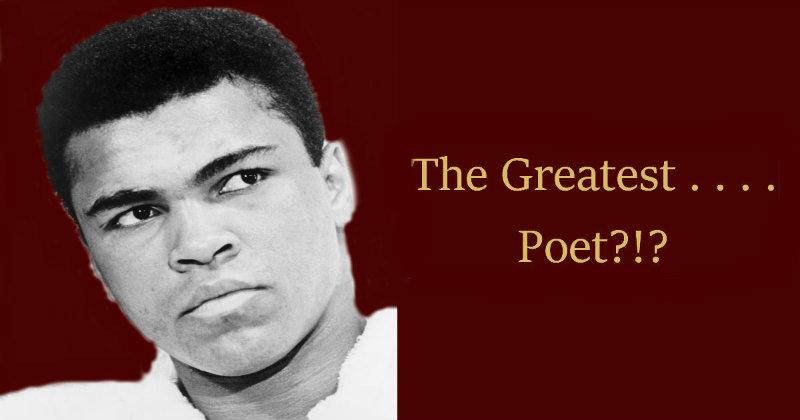 Muhammad Ali Poet Bestow Education
