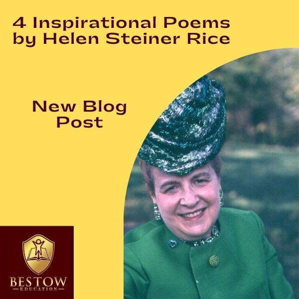 Helen Steiner Rice Inspirational Poems