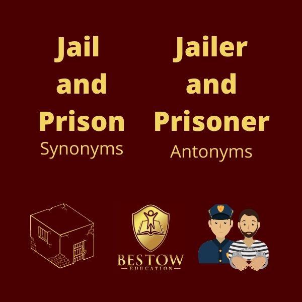 Why is English Difficult strange English Words Jail Jailer Prison Prisoner Bestow Education