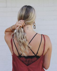 lifestyled by me mallory ennis cross neck tattoo and testimony blog post