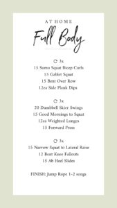 Free full body workouts lifestyled by me fitness and mom blog