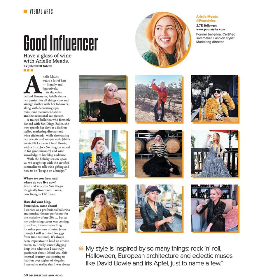 Pacific SD Influencer of the Month – December Issue