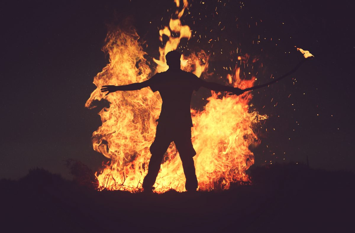 Standing Up in the Fire