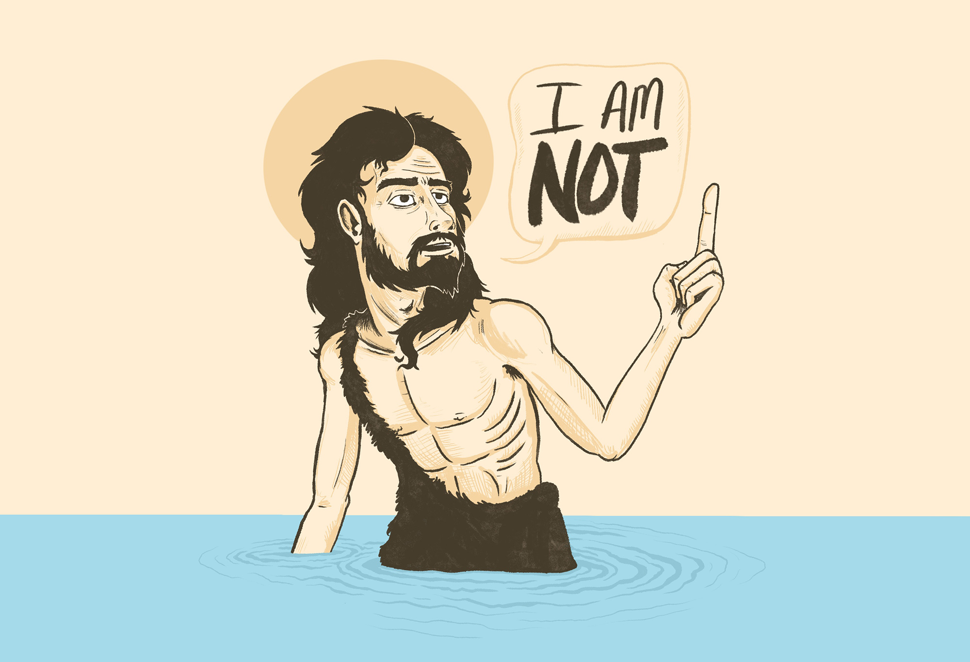 I am Not | Homily for 3rd Sunday of Advent