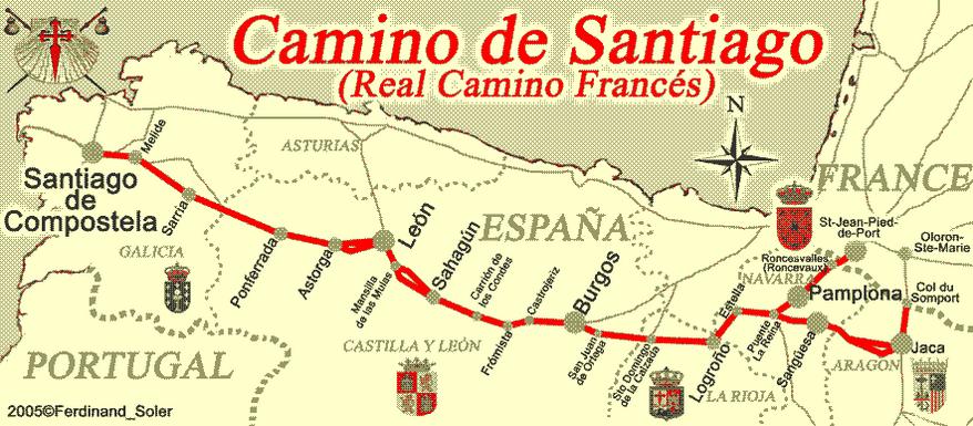 Photo of Sarah Hibard is walking Spain's El Camino de Santiago