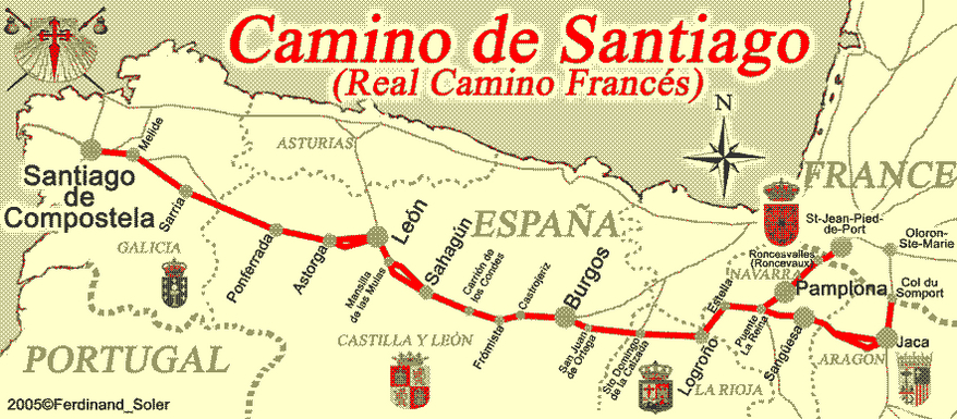 Photo of Sarah Hibard is walking Spain's El Camino de Santiago