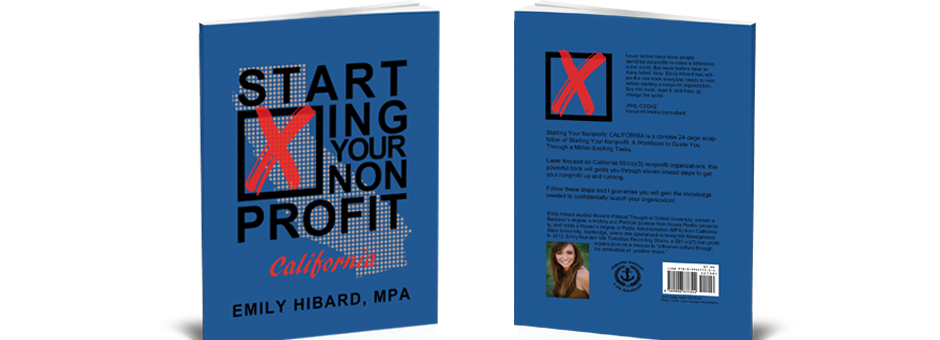 Photo of Starting Your Nonprofit: CALIFORNIA, now available on Amazon