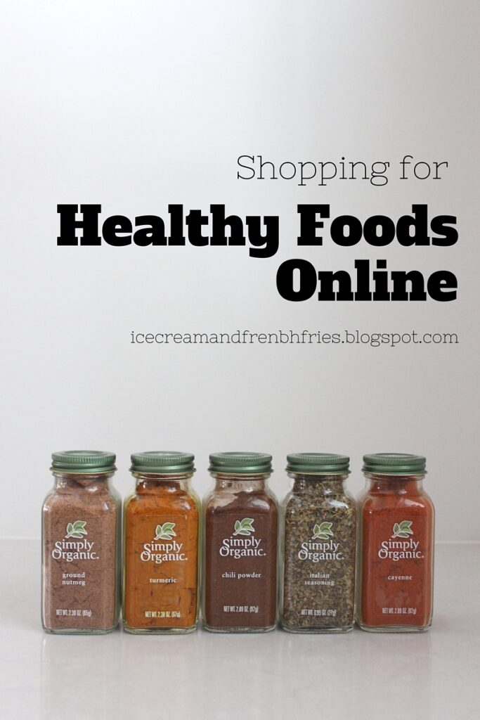 Shopping for Healthy Foods Online