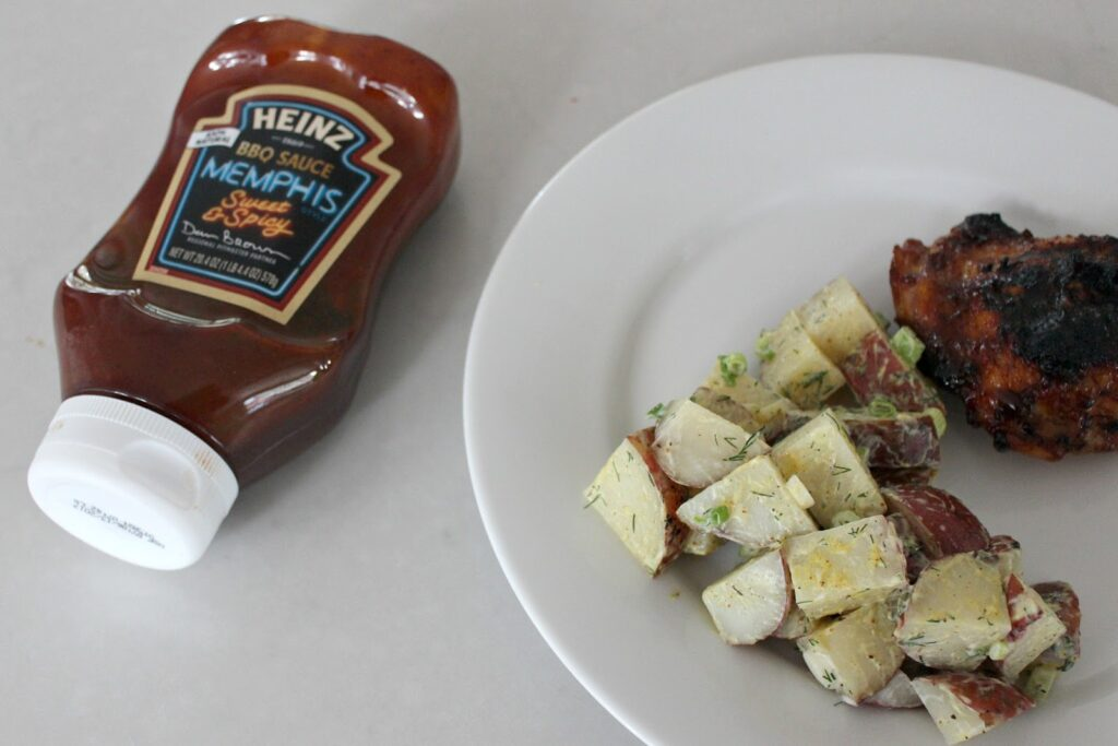 BBQ Approved Healthy Potato Salad