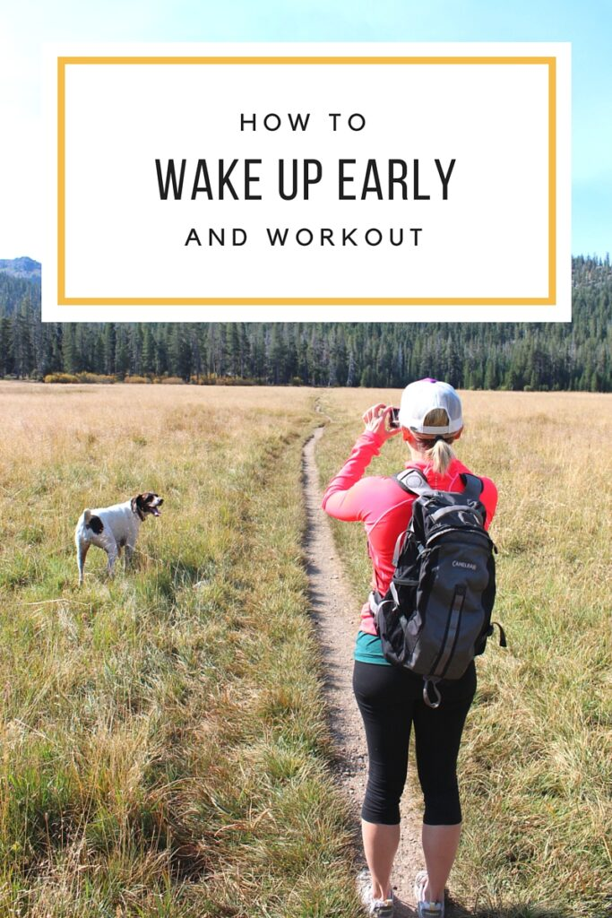 How to Wake Up and Workout Early