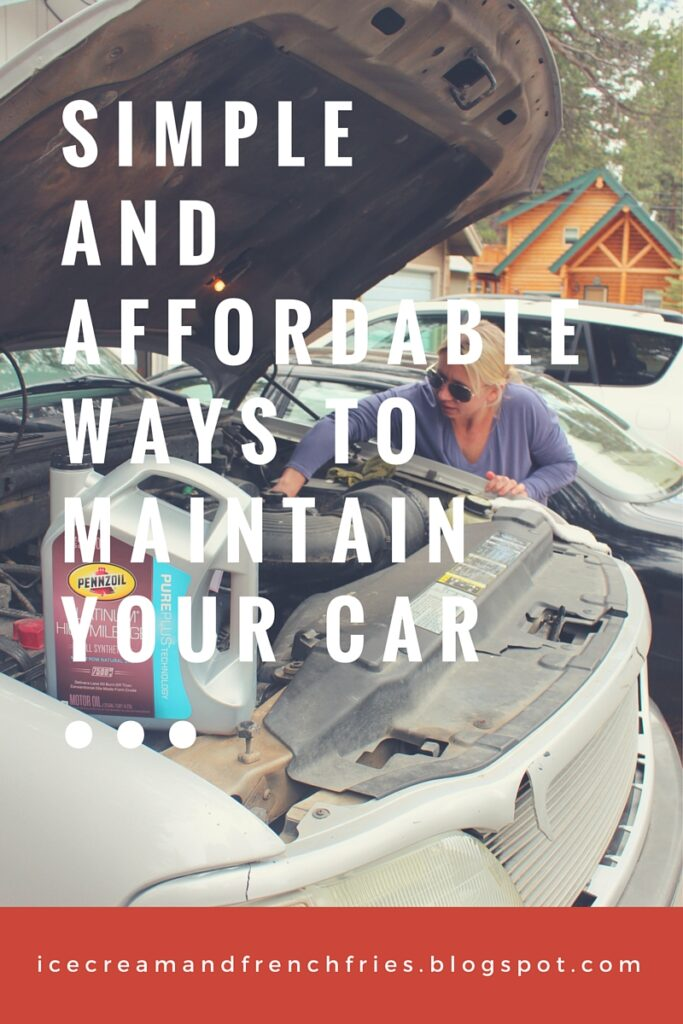 Simple and Affordable Ways to Maintain Your Car