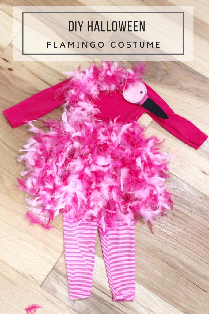 Halloween - DIY Flamingo Costume