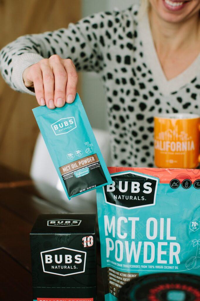 BUBS Naturals MCT OIL Powder