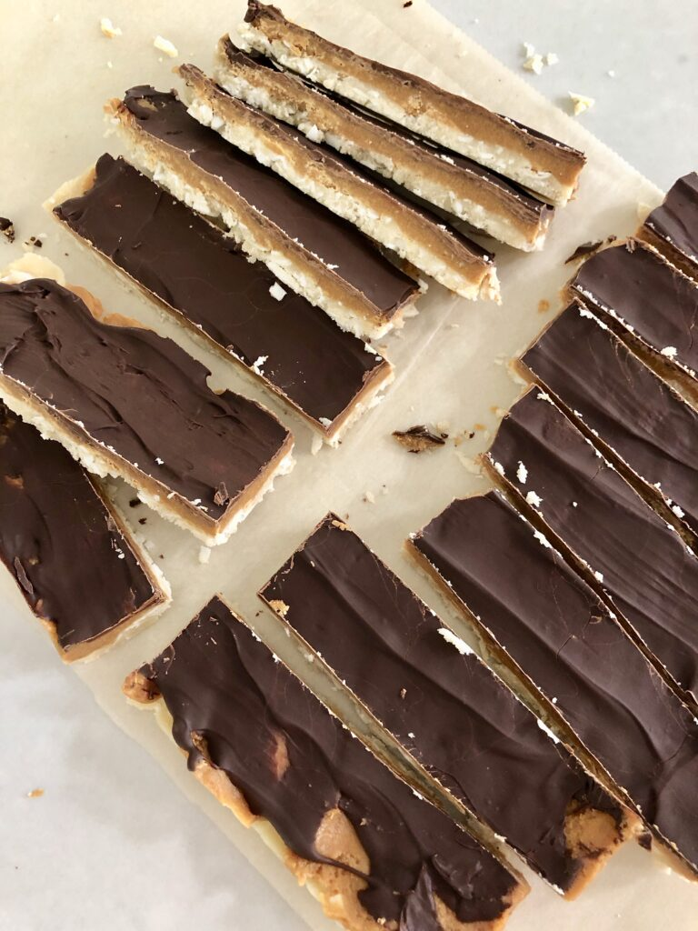 Nut Butter Twix Bar