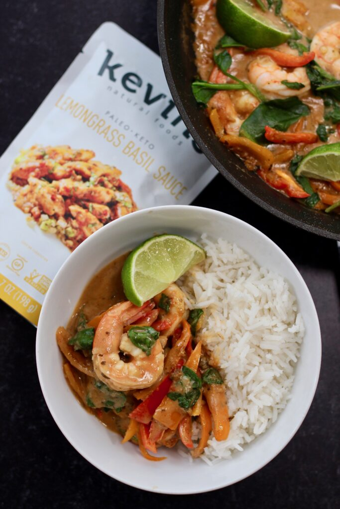 Quick & Easy Shrimp Curry Week Night Dinner