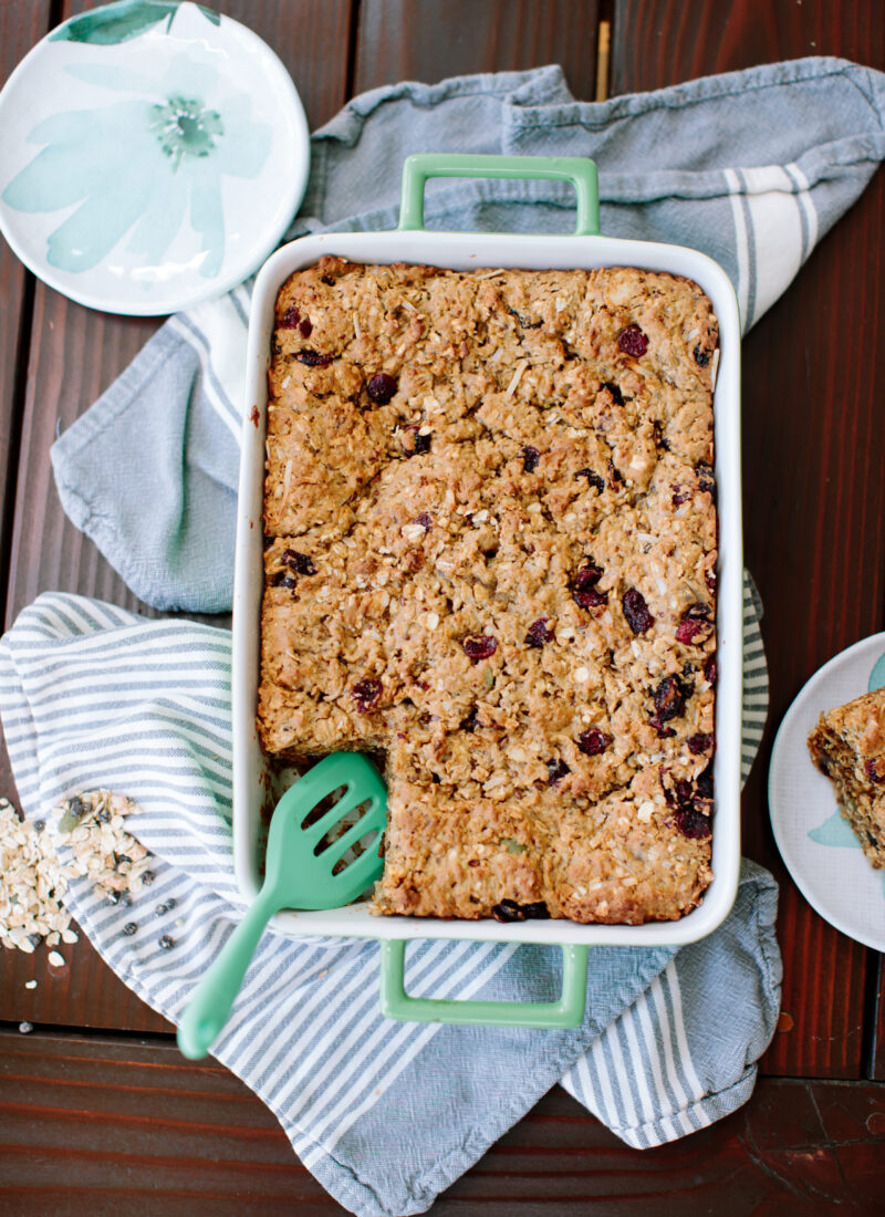 The Ultimate Oatmeal Bar