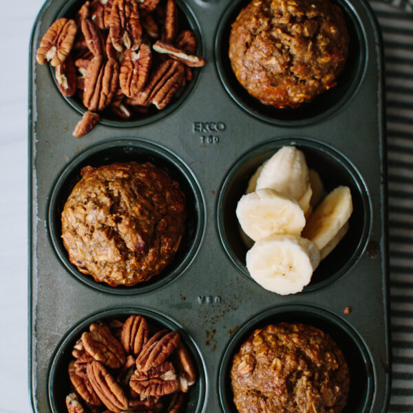 The Only Oatmeal Banana Nut Muffins You Need to Make