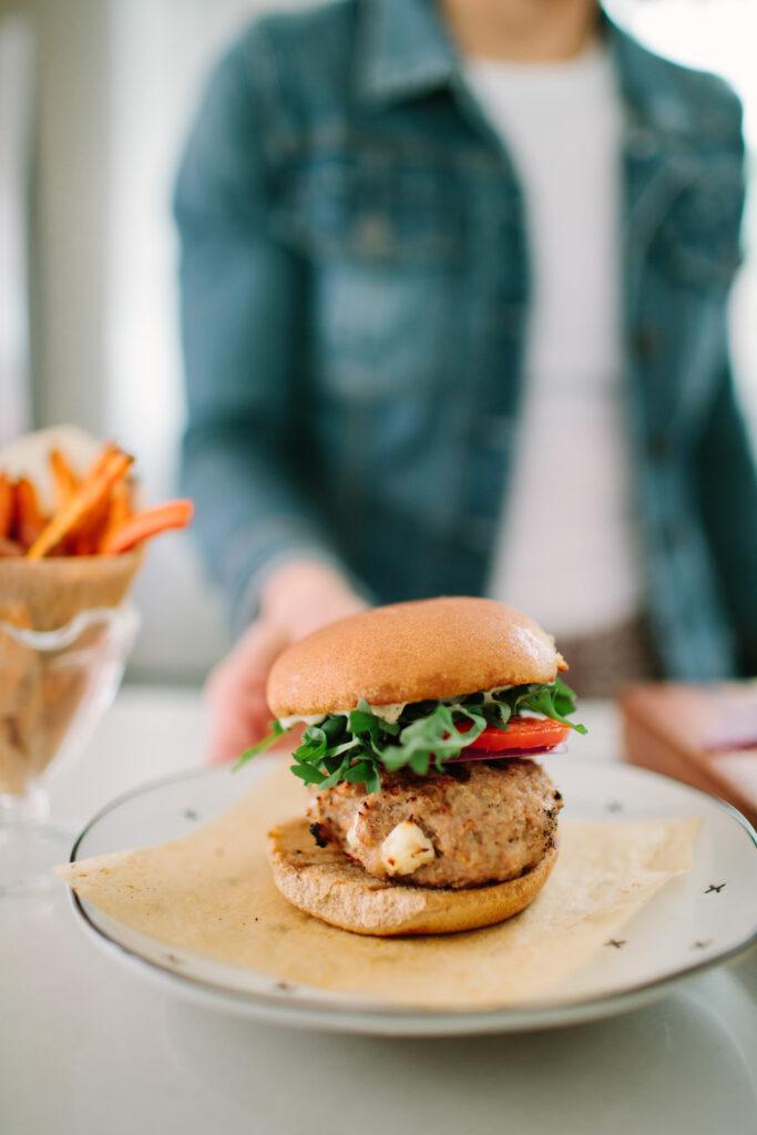 Skillet Turkey Burger