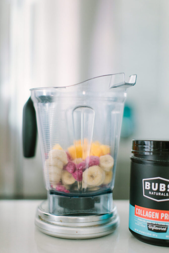 Easy Tropical Protein Nice Cream