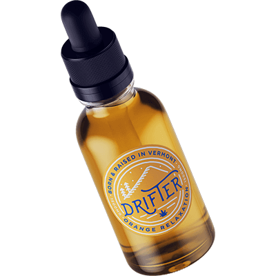 drifter cbd relaxation orange tincture 1500mg cbd