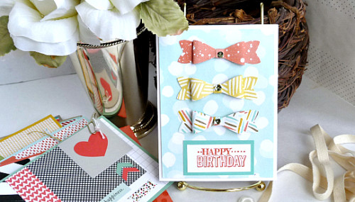 One-Time Greeting Card Box