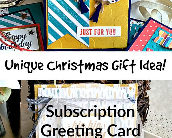 subscription box gift ideas