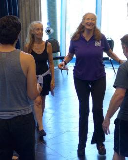 Michael Chekhov Master Teacher inspires National Michael Chekhov Association Workshop Students at NMSU.