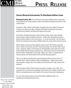 CMI Press Release
