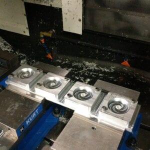CNC Machined custom aluminum beam part for gantry crane