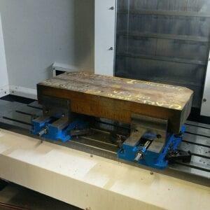 CNC Machined custom steel fabiration