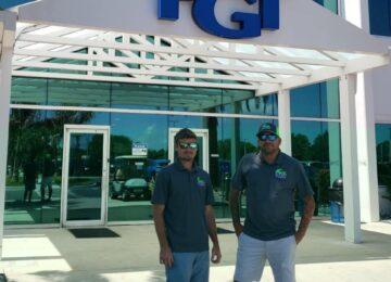 Jason and Bobby at PGT