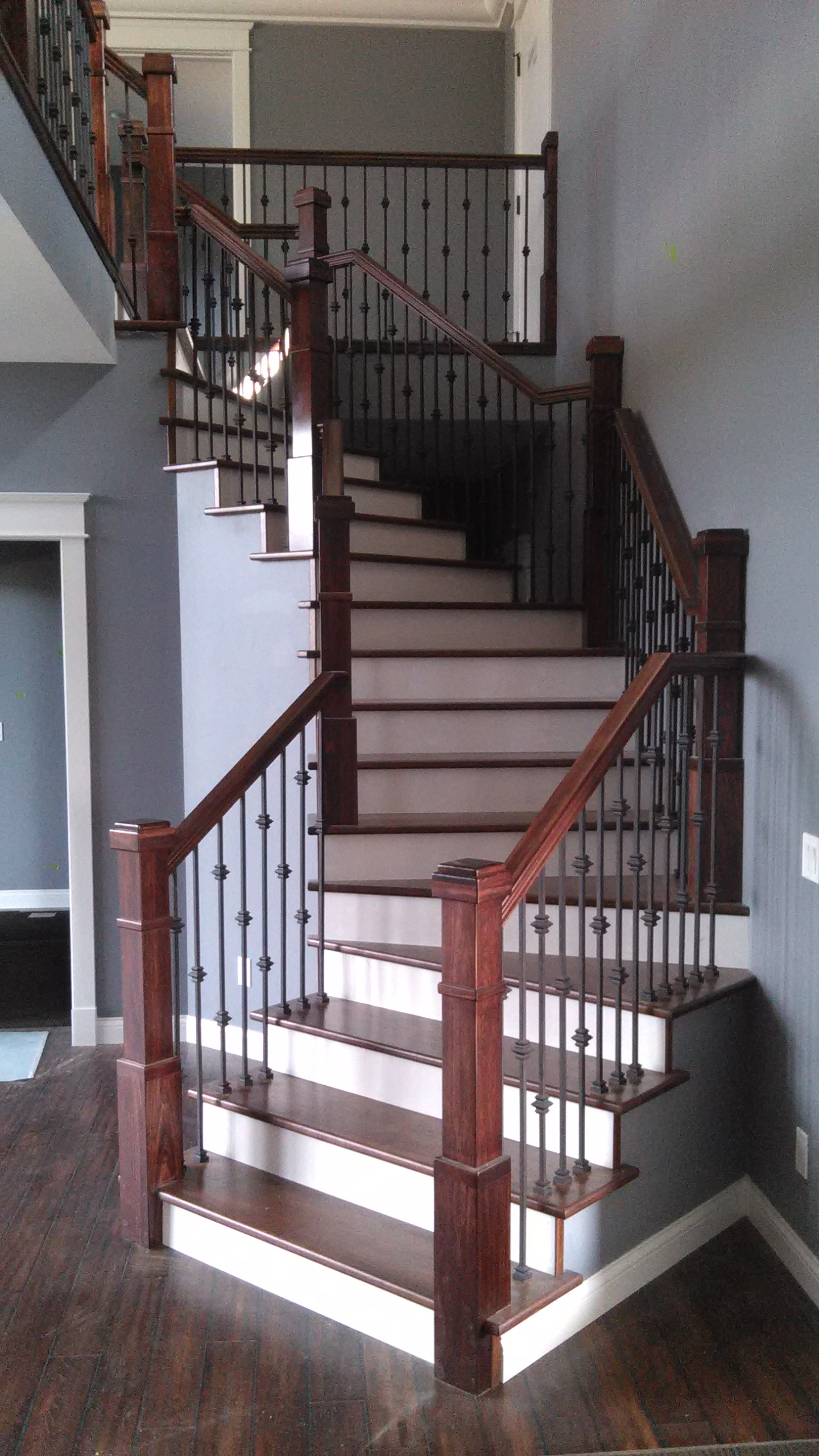 railing new home construction southwest wisconsin