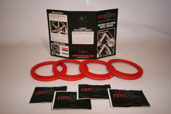 Custom Wheel Rims (Red)