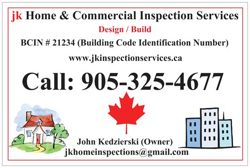 JK Home & Commercial Inspection Services in the Niagara Region from Fort Erie to Oakville. Hamilton and Burlington Home & Commercial Inspection