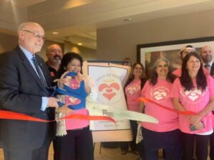 Ribbon Cutting Ceremony Halo of Hope