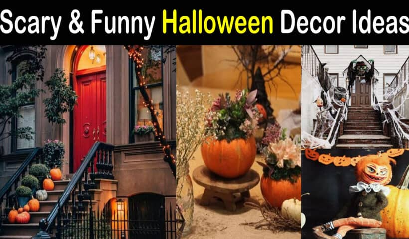 Scary Halloween decoration ideas