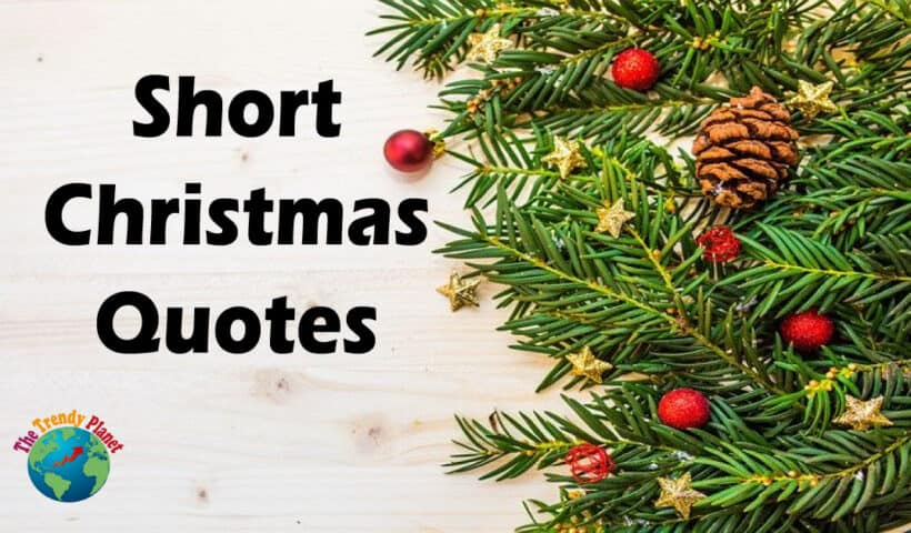 Short Christmas Quotes