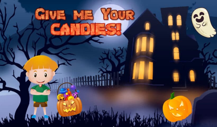 Halloween Story for kids