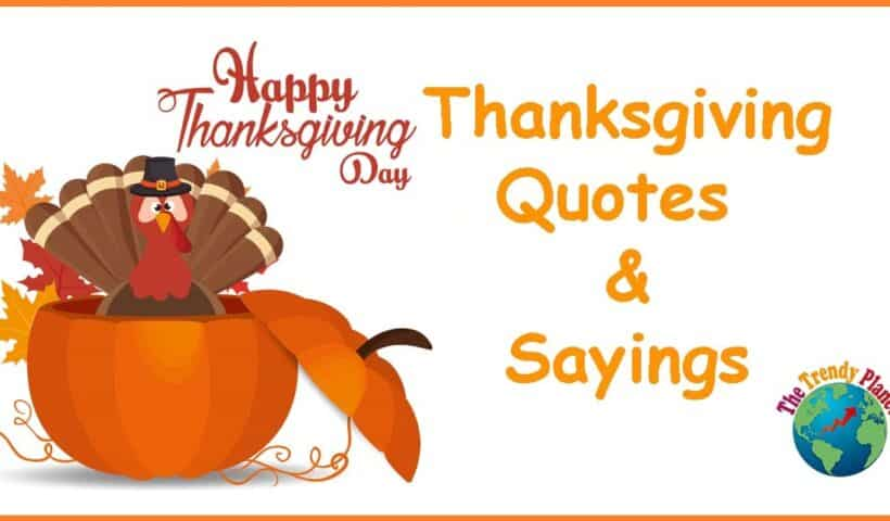 thanksgiving quotes sayings