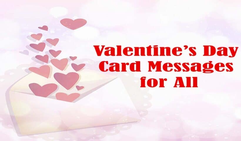 what to write in valentines card