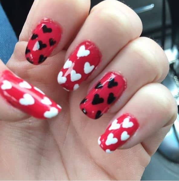 40+ Attractive Valentine Nail Art Designs 2020 You must try