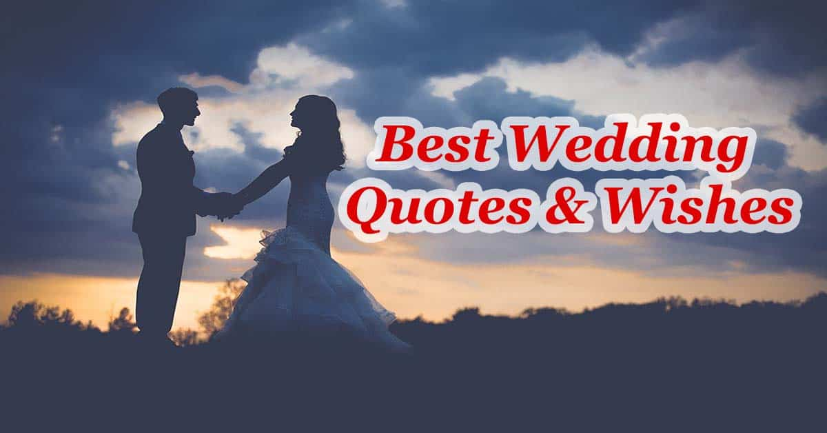 16 Best Wedding Quotes – Short Wedding Quotes for Cards